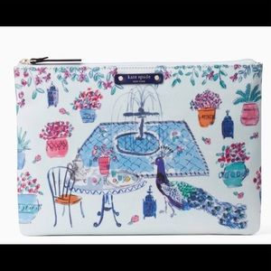 Kate Spade Full Plume Gia Clutch Authentic NWT!